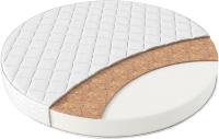 Матрас в кроватку Farfello Soft Lux 75x75x11 (круг) -