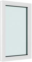 Окно ПВХ Brusbox 1100x700x70 -