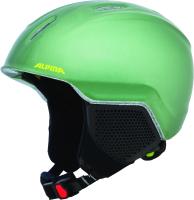 Шлем горнолыжный Alpina Sports 2020-21 Carat LX / A9081-73 (р-р 51-55, зеленый) -