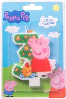 Свеча для торта Росмэн Пеппа-принцесса №3 / 29735 -
