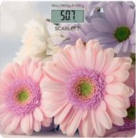 Напольные весы электронные Scarlett SC-BS33E049 (герберы) -