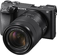 Беззеркальный фотоаппарат Sony Alpha A6300 Kit 18-135mm / ILCE-6300MB (черный) -