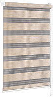 Рулонная штора Delfa Сантайм День-Ночь Бамбук МКД DN-42903 (34x160, золотой песок) -