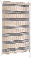 Рулонная штора Delfa Сантайм День-Ночь Бамбук МКД DN-42903 (62x160, золотой песок) -