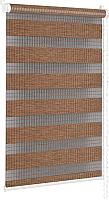 Рулонная штора Delfa Сантайм День-Ночь Бамбук МКД DN-42905 (43x160, мокка) -