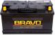 Автомобильный аккумулятор BRAVO 6СТ-90VL 1 (90 А/ч, прямая) -