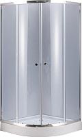 Душевой уголок Niagara NG-108021-14 80x195 (тонированное стекло/хром) -