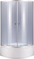 Душевой уголок Niagara NG-108022-14 80x195 (тонированное стекло/хром) -