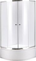 Душевой уголок Niagara NG-109012-14 90x195 (прозрачное стекло/хром) -