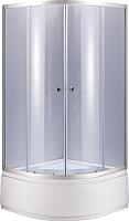 Душевой уголок Niagara NG-109022-14 90x195 (тонированное стекло/хром) -