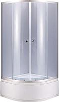 Душевой уголок Niagara NG-110022-14 100x195 (тонированное стекло/хром) -