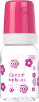 Бутылочка для кормления Canpol 11/82 (120мл, розовый) -