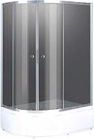 Душевой уголок Niagara NG-412022-14 R 120x80x195 (тонированное стекло/хром) -