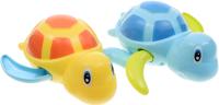 Набор игрушек для ванной Happy Baby Swimming Turtles / 331843 (голубой/желтый) -