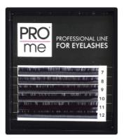 Ресницы для наращивания Pro Me Soft Микс D 0.07 7-12 (6 линий) -