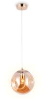 Потолочный светильник Ambrella TR3510 GD/TI (золото/янтарь) -