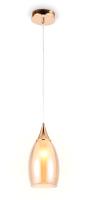 Потолочный светильник Ambrella TR3543 GD/TI (золото/янтарь) -