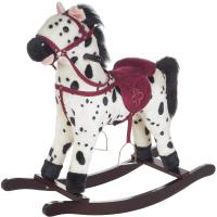 Качалка детская Pituso Fandango Лошадка / GS2035 (белый/черный) -
