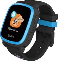 Умные часы детские Elari KidPhone / KP-NP (черный) -