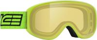 Маска горнолыжная Salice 2020-21 / 100DAF (лайм/желтый) -