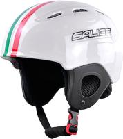 Шлем горнолыжный Salice 2020-21 Kid ITA (р-р 48-56, белый) -