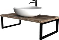 Столешница для ванной 1Марка Grunge Loft 100 / У85835 -