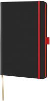 Записная книжка CASTELLI Tucson Black Color / 0Q25AM-004 (черный/красный) -