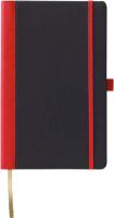 Записная книжка CASTELLI Contrast / 0Q24AG-003 (черный/красный) -