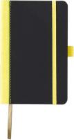 Записная книжка CASTELLI Contrast / 0Q24AG-005 (черный/лимонный) -