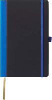 Записная книжка CASTELLI Contrast / 0Q24AG-002 (черный/синий) -