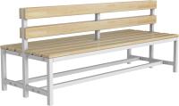 Скамейка для раздевалки ТитанМетаБел Р3 (1.5м) -