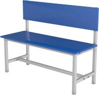 Скамейка для раздевалки ТитанМетаБел Р2 ЛДСП (1м) -