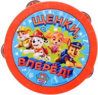 Музыкальная игрушка Росмэн Щенячий Патруль. Бубен / 34812 -