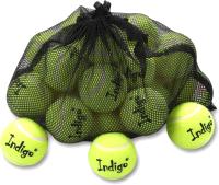 Набор теннисных мячей Indigo IN154 (24шт, желтый) -