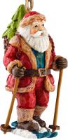 Елочная игрушка Erich Krause Decor Санта на лыжах / 27584 -