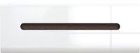 Шкаф навесной BMK Ацтека SFW1K/4/11 (белый/белый блеск/венге магия) -