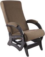 Кресло-глайдер Calviano Бастион 6 (United 8/темно-коричневый) -