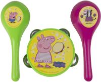 Музыкальная игрушка Peppa Pig Свинка Пеппа. Бубен и маракасы / 30569 -