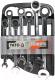 Набор ключей Yato YT-0208 (7 предметов) -