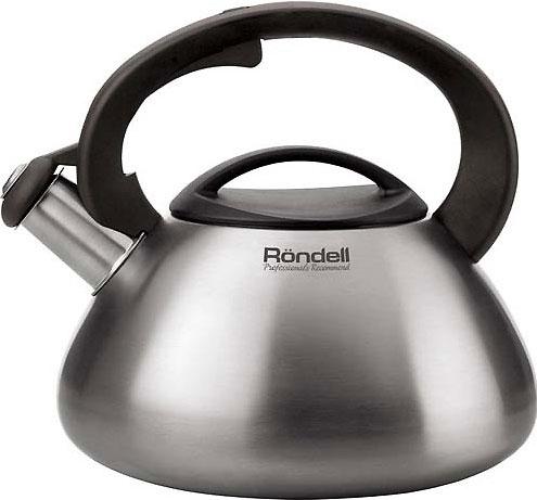 Купить Чайник со свистком Rondell, RDS-088, Китай, нержавеющая сталь