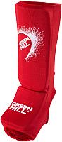 Защита голень-стопа Green Hill SIC-6131 (L, красный) -