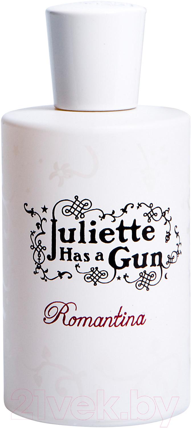 Парфюмерная вода Juliette Has A Gun, Romantina (100мл), Франция  - купить со скидкой