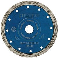 Отрезной диск алмазный Hilberg 150 ультратонкий турбо X / HM403 -