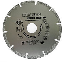 Отрезной диск алмазный Hilberg Super Master 125 -