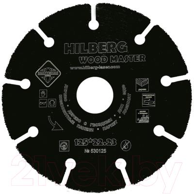 Диск пильный Hilberg 530125