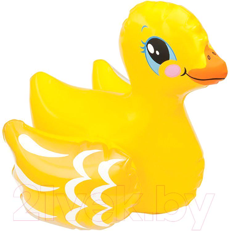 Купить Надувная игрушка для плавания Intex, Надуй и играй 58590 (уточка), Китай, винил