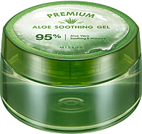 Маска для лица гелевая Missha Premium Aloe Soothing Gel (300мл) -