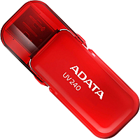 Usb flash накопитель A-data DashDrive UV240 Red 16GB -