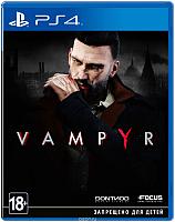 Игра для игровой консоли Sony PlayStation 4 Vampyr -