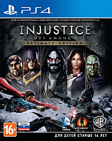Игра для игровой консоли Sony PlayStation 4 Injustice: Gods Among Us. Ultimate Edition -
